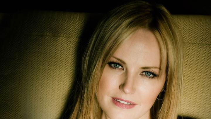 Malin Akerman Looking At Camera Cute Eyes Face Closeup